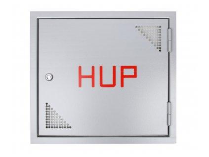 Revizní dvířka plynoměru HUP - nerezové provedení (standardní i atypická) - různé velikosti (Rozměr šířka od 900 cm do 1000 cm, Rozměr výška od 1700 cm do 1800 cm)