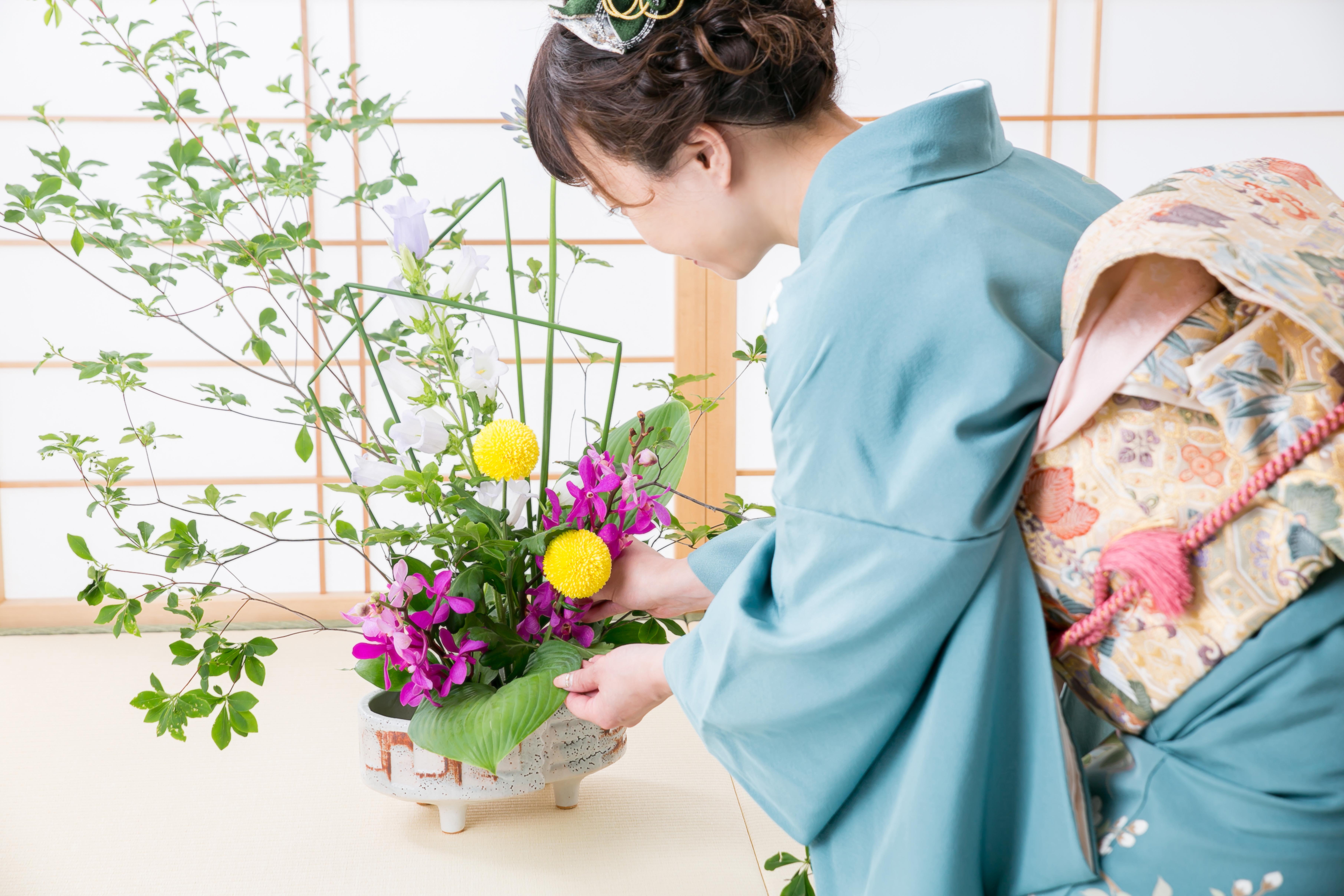 Ikebana: Pôvod a história
