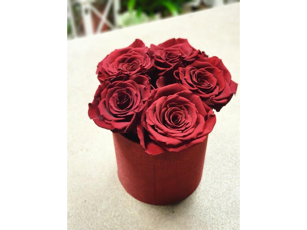 box z trvácnych ruží