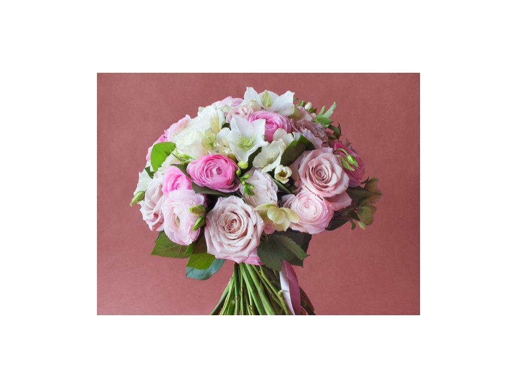 Ružová kytica