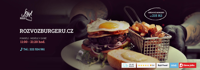 Obědové burgery