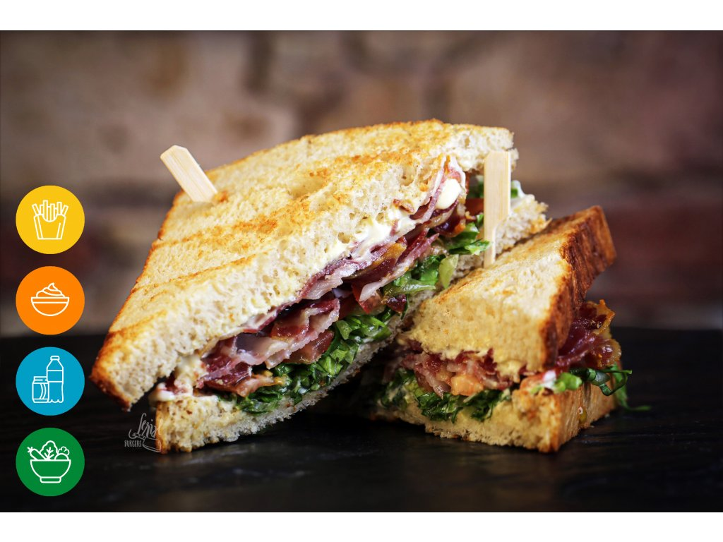 150g BLT SANDWICH MENU