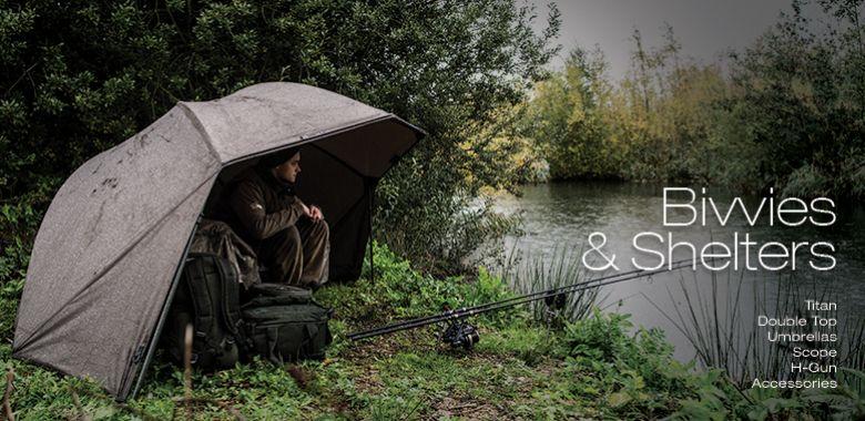 Bivaky, Brolly, Deštníky
