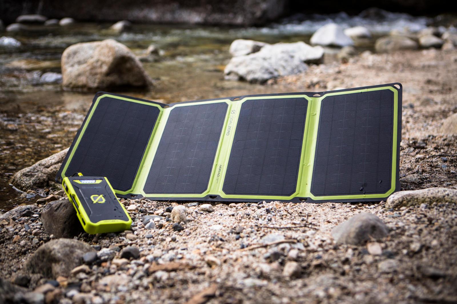Power banky, solární panely , příslušenství