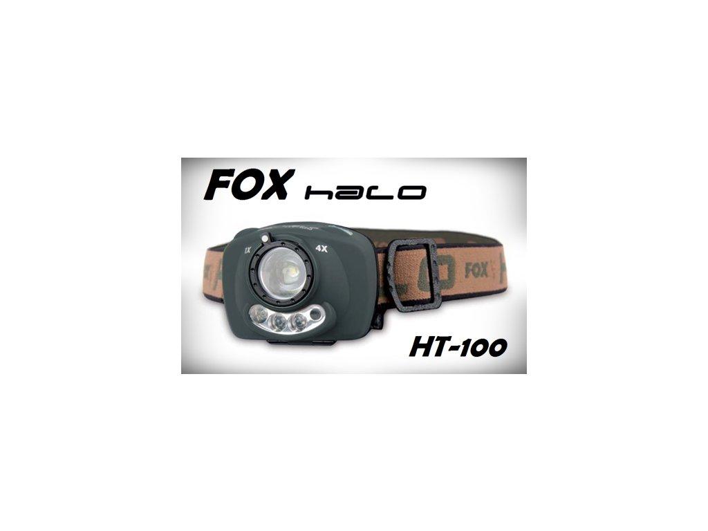 FOX ČELOVKA HT100
