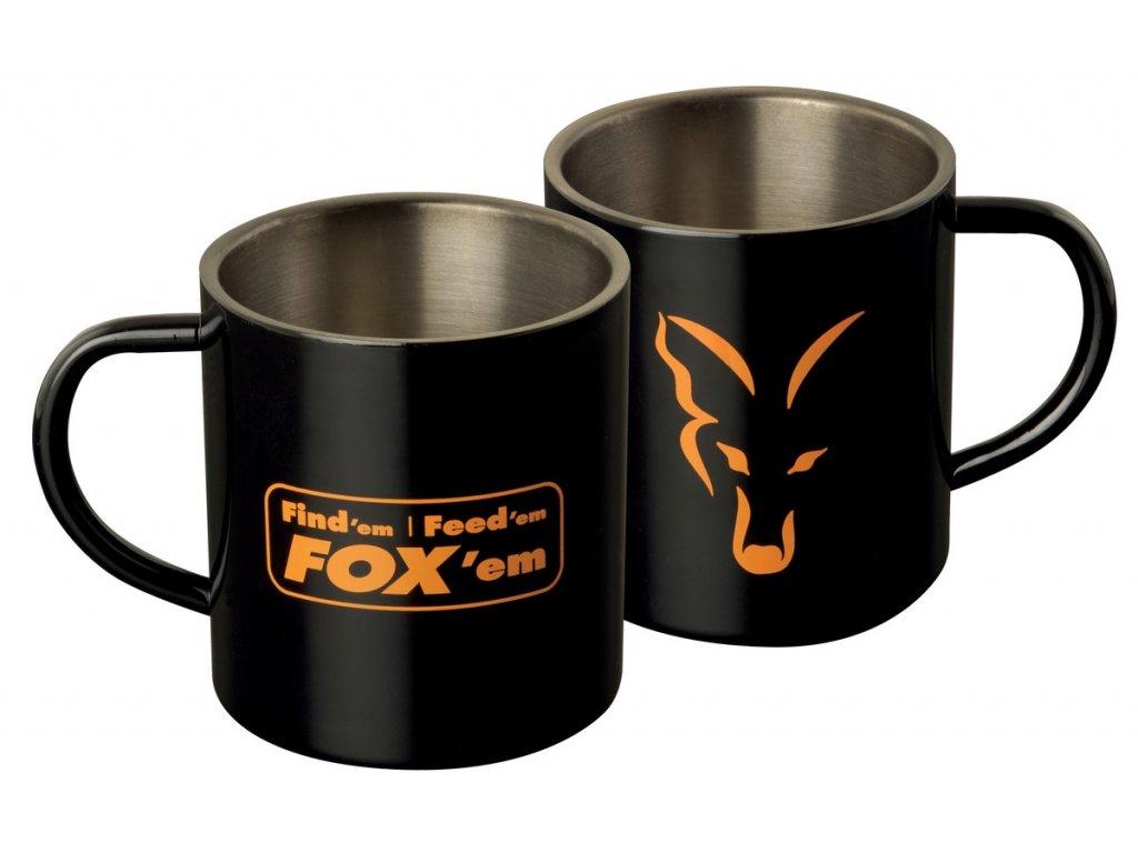 FOX HRNEK STAINLESS BLACK MUG XL 400 ml