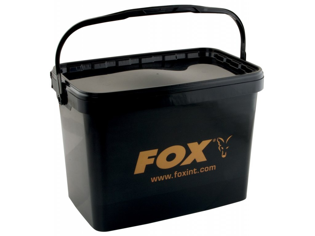 FOX KBELÍK BUCKETS 16 L BLACK SQUARE