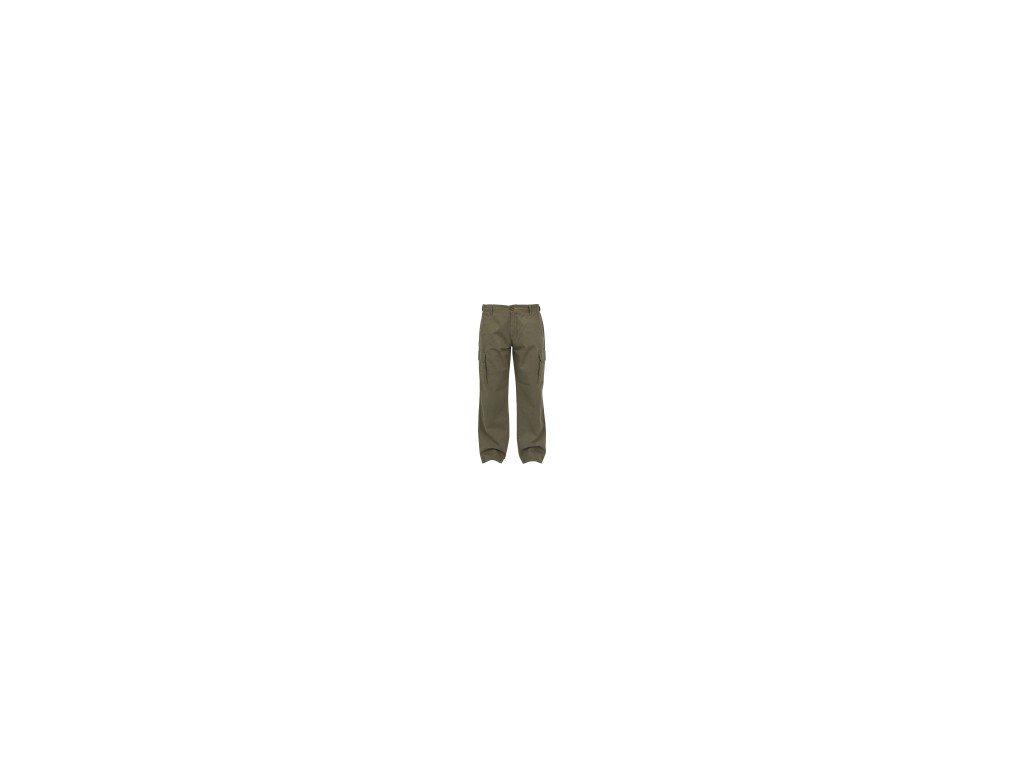 FOX Kalhoty Chunk Heavy Twill Cargo Pants Khaki