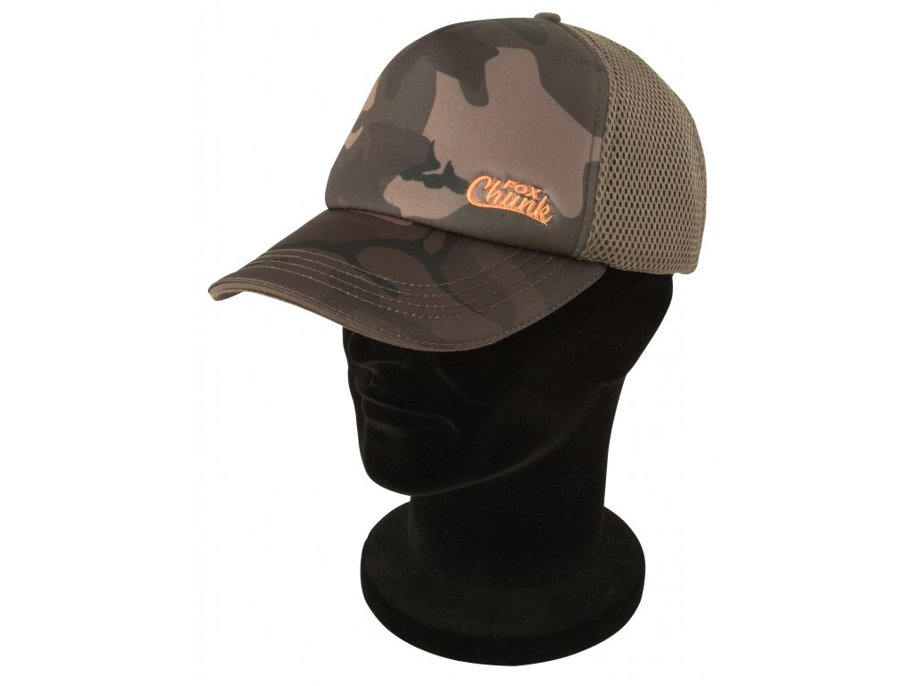Fox kšiltovka Chunk Camo Mesh Back Baseball Cap - One Size