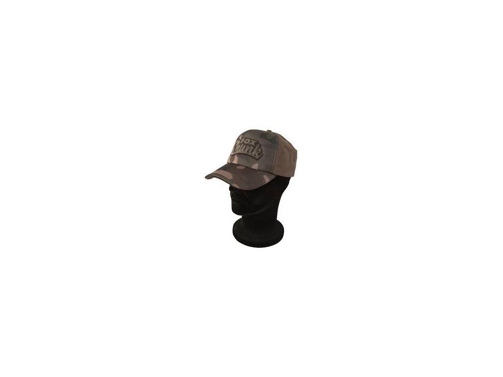 FOX kšiltovka Chunk Camo Solid Back Baseball Cap - One Size