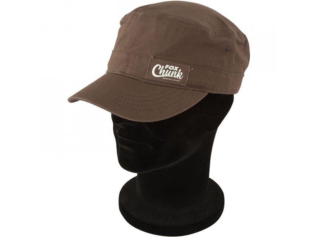 FOX kšiltovka Chunk Khaki/Camo Cuban Cap - One Size