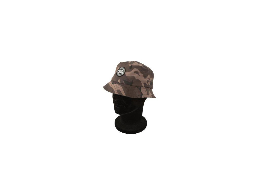 FOX kšiltovka Chunk Khaki/Camo Liner Bucket Hat - One Size