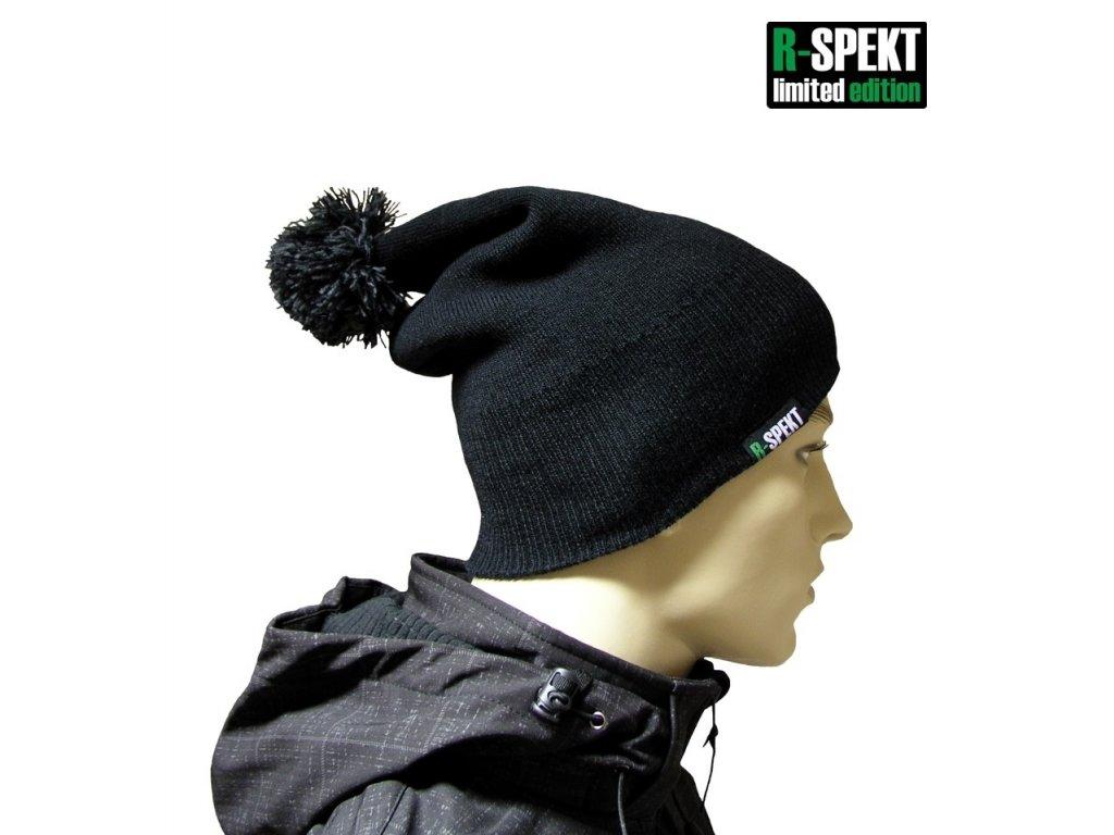 R-SPEKT Kulich pompom DUO beanie style černý