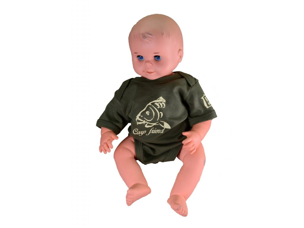 R-SPEKT Baby body Carp friend khaki