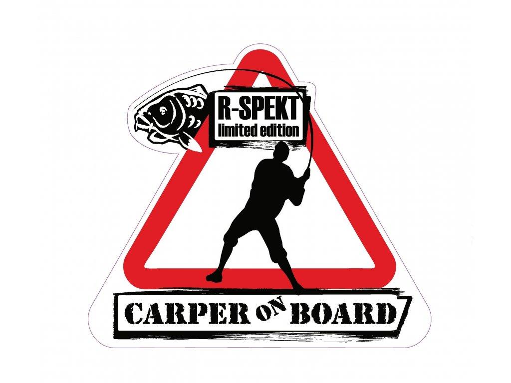 R-SPEKT Samolepka CARPER ON BOARD