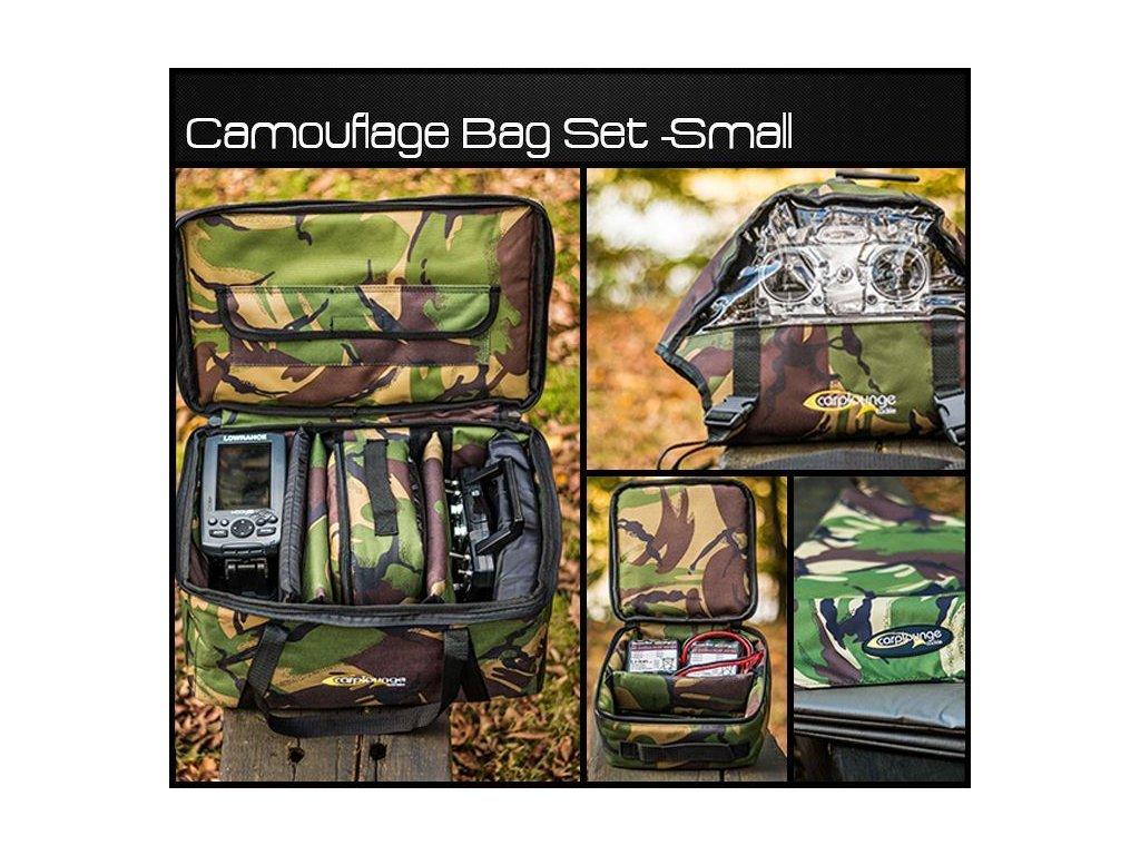CARPLOUNGE Camouflage Bag Set -Small
