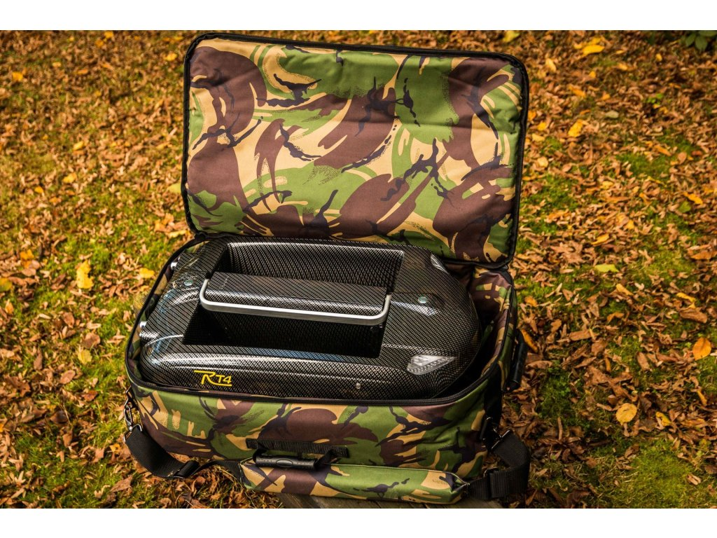 CARPLOUNGE Camouflage Compact Baitboat Bag Deluxe