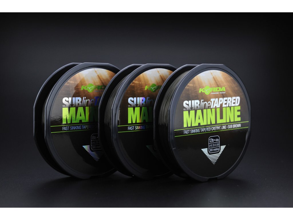 subline tapered main line