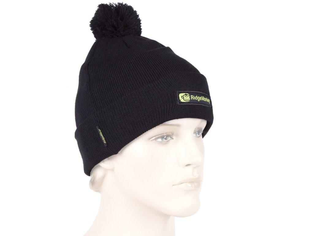 Ridgemonkey Bobble Hat | Čepice | Černá