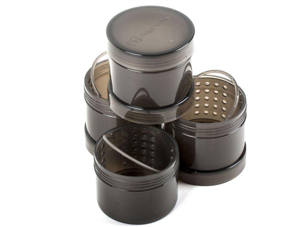 Ridgemonkey Modular Hook Bait Pots | Zásobníky na nástrahy | Hnědá 2