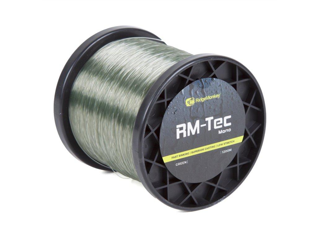Ridgemonkey Tec Mono   Vlasec   Zelený   12lb   0.35mm   1200m