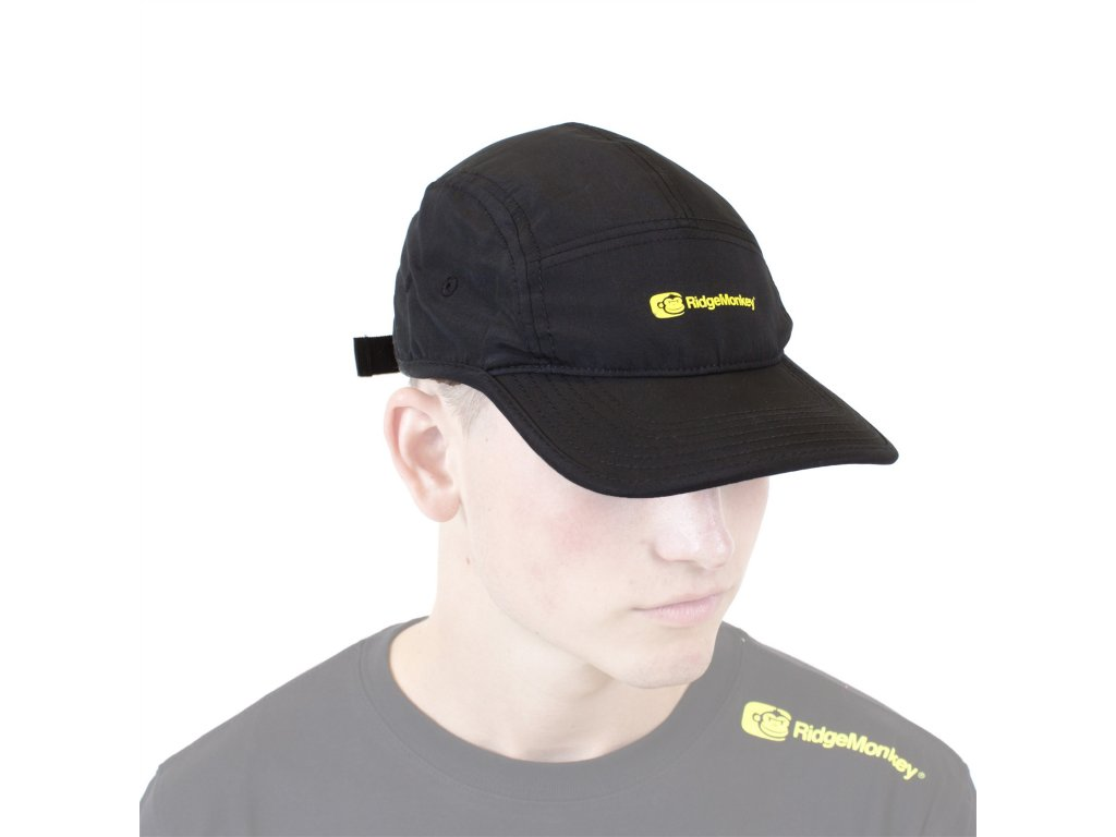 Ridgemonkey Five Panel Cap | Kšiltovka | Classic Black