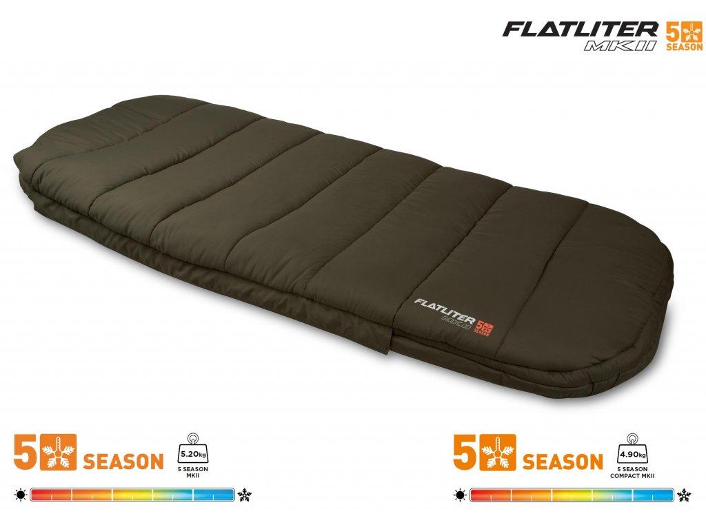 FOX FLATLITER™ MK2 5 SEASON SLEEPING BAG - COMPACT