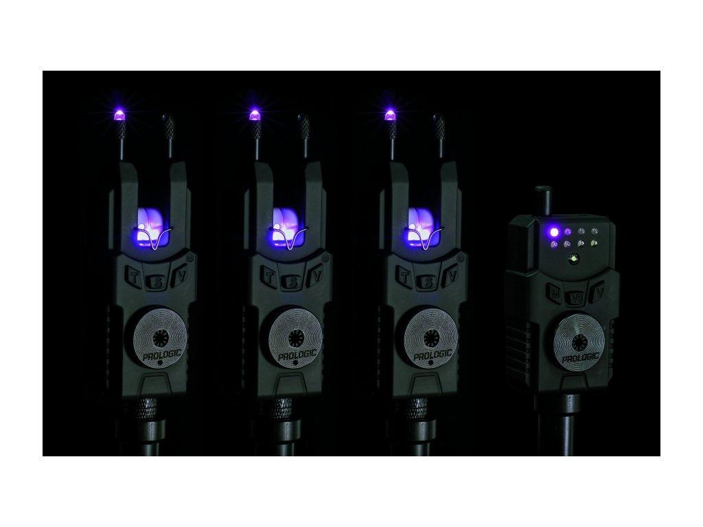 prologic sada signalizatoru smx custom black purple red 1
