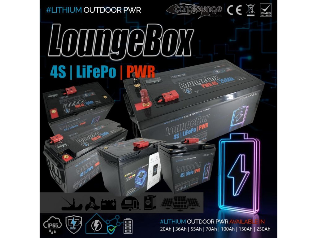 0004280 carplounge loungebox pwr 12v 4s lifepo