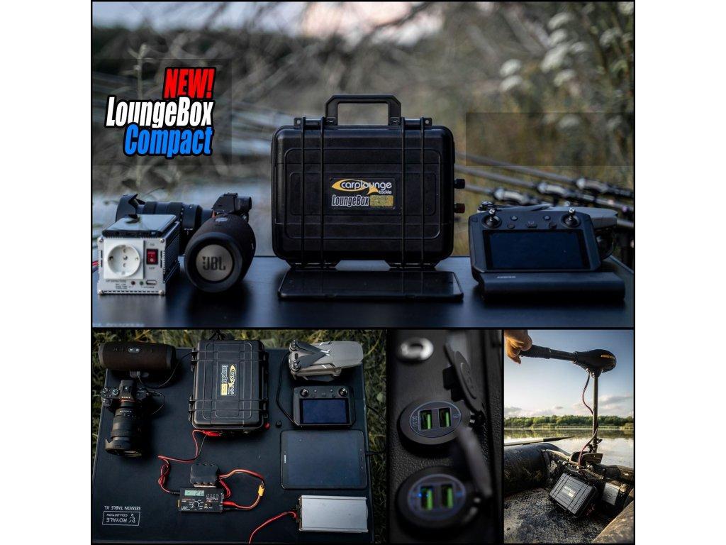 0002266 carplounge loungebox compact lade powerstation 800w