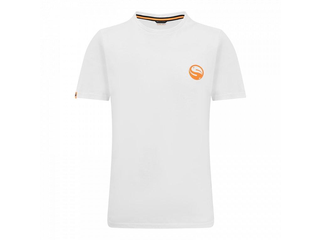 GCL235 Guru Semi Logo Tee White Front