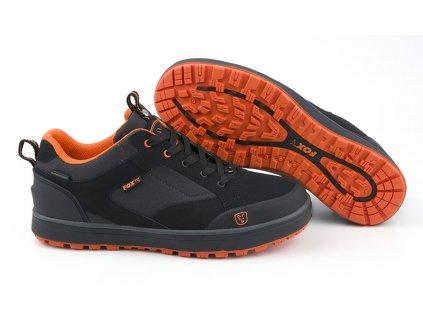 black and orange trainers main image