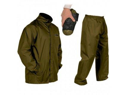 Vass Tex Lightweight Khaki Packaway Jacket and Trouser Set 1