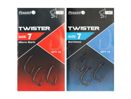 Nash Pinpoint Twister Hooks
