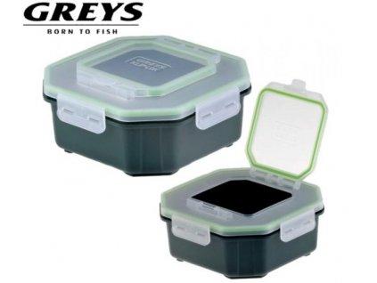 greys klip lok bait boxes flip lid vetsi d7930