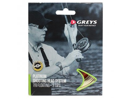 greys platinum shooting head system spey kit salmon fly fishing lines