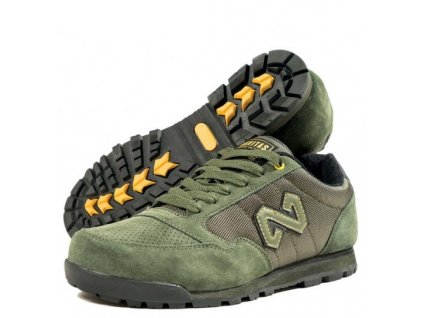 navitas boty trainers zelene