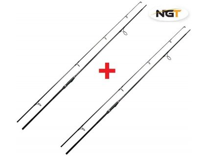 NGT Prut Dynamic Carp Black 12ft, 3lb AKCE 1+1 ZDARMA!