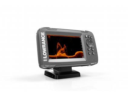Lowrance HOOK2 5x SplitShot GPS HDI product right facing 8 17 20825