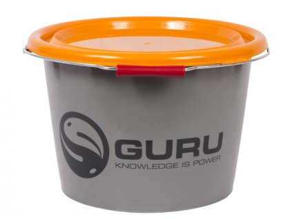 wiadro guru bucket 18 ltr grey bs