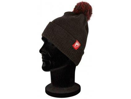 nhh001 rage grey bobble hat