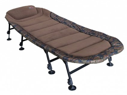 zfish lehatko camo condor bedchair 8 leg