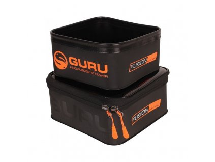 guru fusion luggage range 400 300 bait pro combo