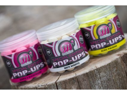 MAINLINE plovoucí boilies Limited Edition Pop Ups