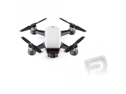dji spark alpine white version sada s vysilacem