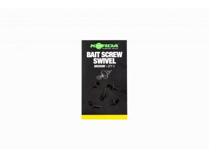 KMW008 Micro Ring Swivel Bait Screw Medium 1
