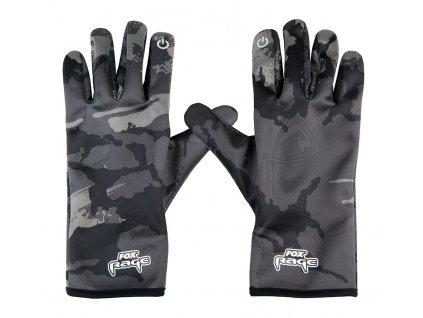FOX RAGE Thermal Camo Gloves