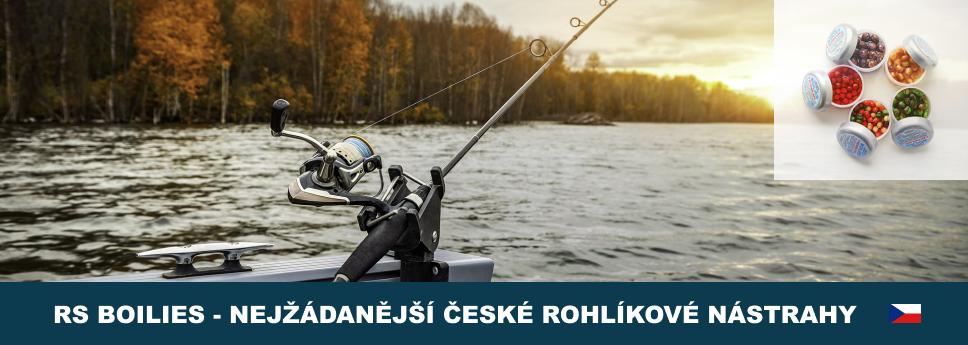 RS Boilies nejkvalitnější rybářské nástrahy.