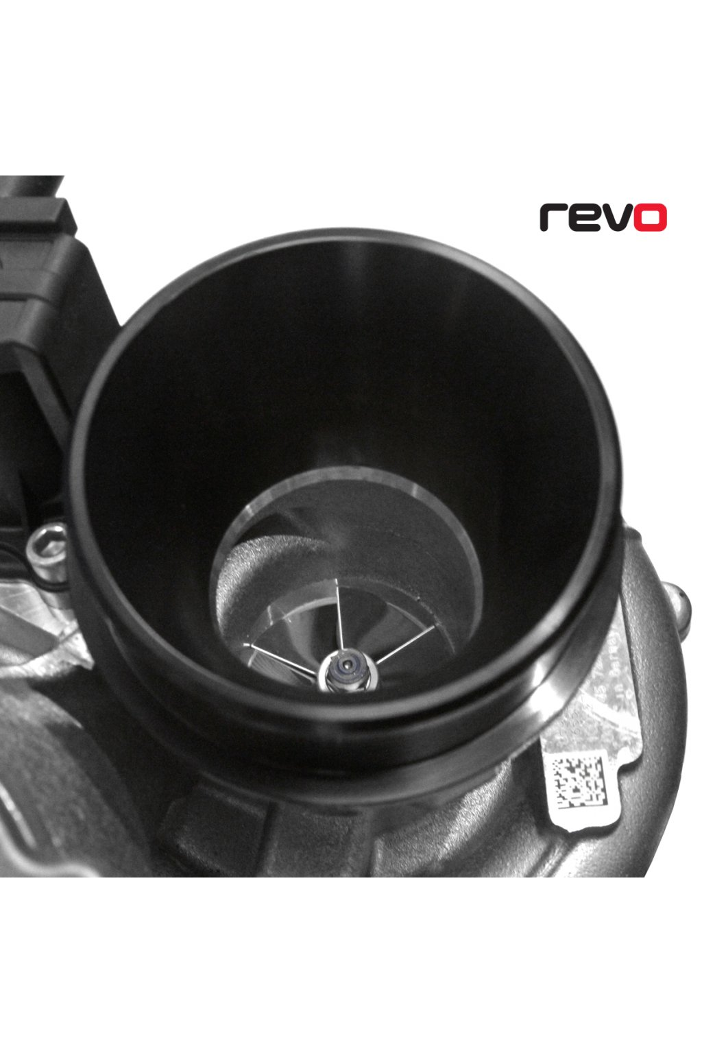 Revo MQB Machined Turbo Inlet (IS38 ETR Hybrid Turbo)