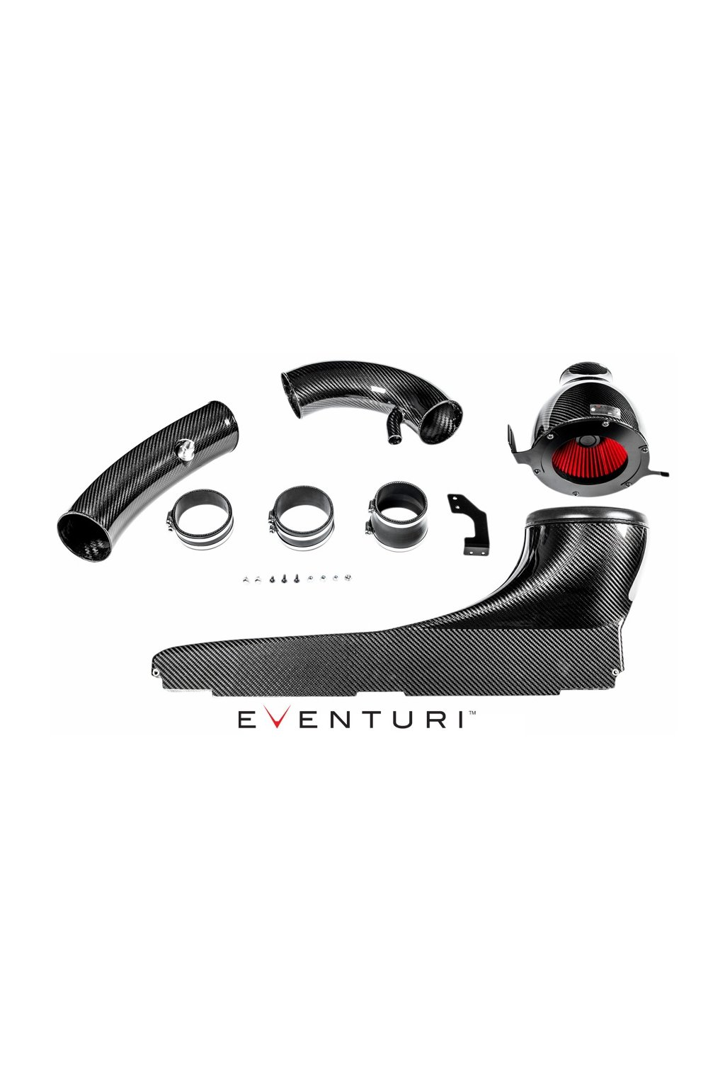TTRS RS3 Eventuri intake components